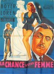 lucky to be a woman french poster belinsky