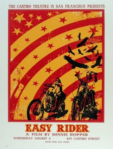 easy rider poster castro david o'daniel