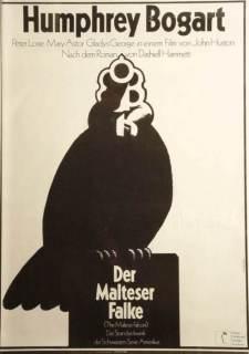 maltese falcon german poster hans hillman