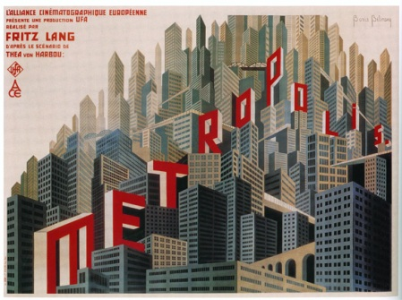 metropolis french movie poster boris bilinsky