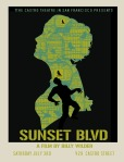 sunset blvd movie poster david o'daniel castro