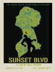 sunset blvd movie poster david o'daniel castro