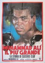 muhammad ali the greatest italian poster tino avelli