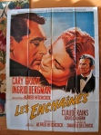notorious french movie poster reissue hitchcock soubie