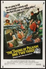the taking of pelham one two three poster mort kunstler2