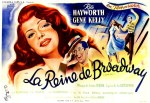 1944 La reine de Broadway 240x160 french poster boris grinsson