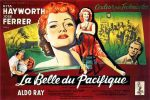 1953 La belle du pacifique french poster boris grinsson