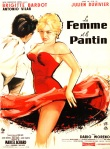 a woman like satan french poster bardot