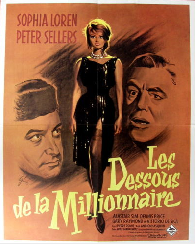 The millionaires Peter Sellers vintage movie poster