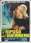 love on a pillow italian poster bardot