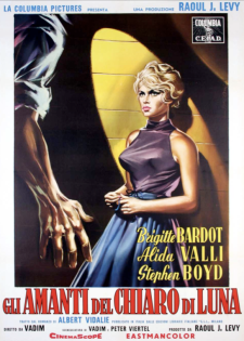 the night heaven fell italian poster bardot symeoni