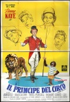 danny kaye circus italian poster nano