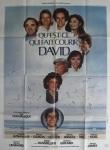what makes david run french poster landi