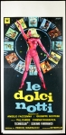 le dolci notti italian manifesto manfredo poster