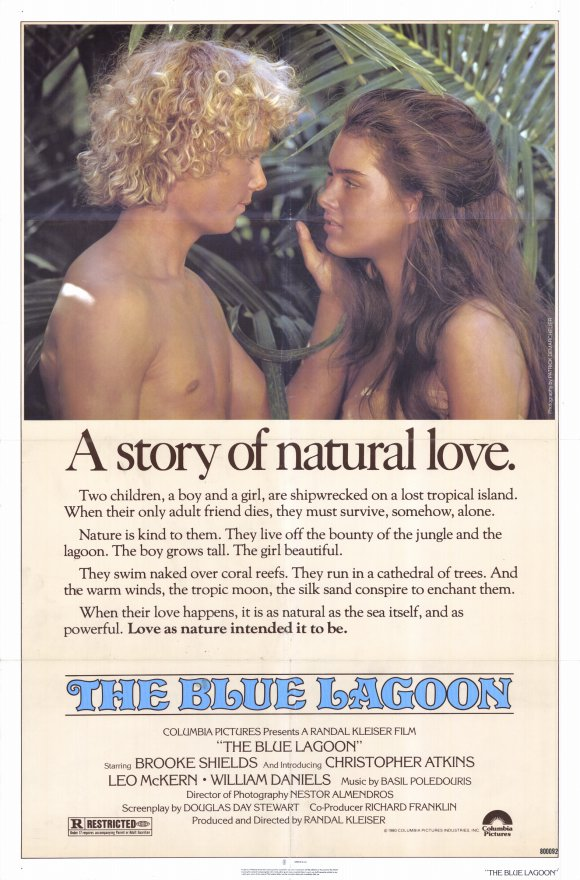 blue lagoon movie poster museum