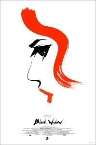 mondo alamo drafthouse avengers black widow olly moss poster