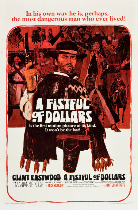 clint eastwood movie poster museum