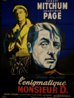 foreign intrigue movie poster l'enigmatique monsieur d bertrand