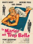 mariee est trop belle bride her bridal night french poster bertrand
