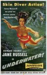 underwater movie poster jane russell