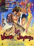 la veuve joyeuse french poster affiche