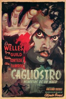 black magic cagliostro-argentinean poster aniram