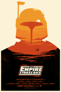 empire strikes back poster alamo drafthouse mondo olly moss