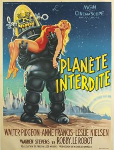 planete interdite french poster roger soubie