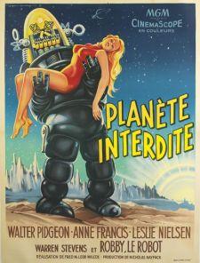 planete interdite french poster roger soubie