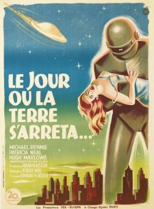 the day the earth stood still french poster boris grinsson