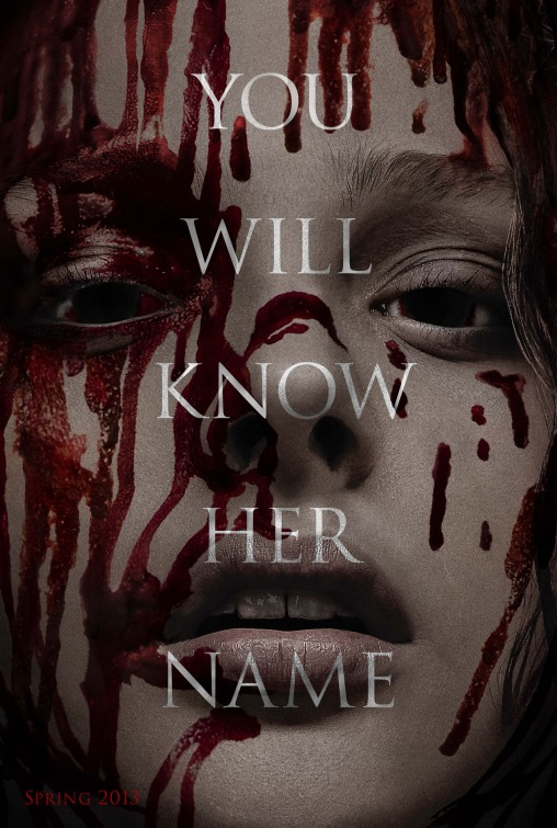 carrie movie poster 2013