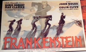 Frankenstein french poster kirk hammett too much horror business