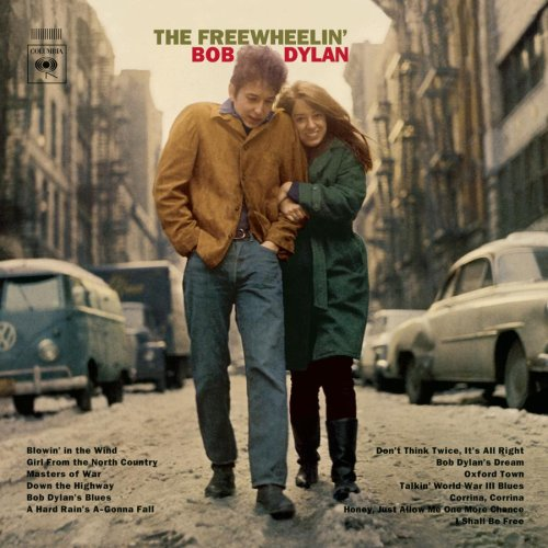 freewheelin bob dylan album cover