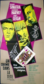 manchurian candidate french movie poster grinsson