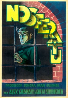 nosferatu spanish poster kirk hammett too much horror business
