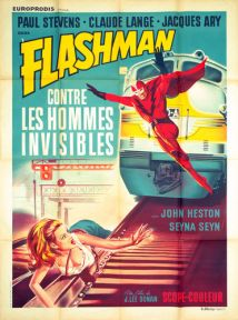 flashman french poster