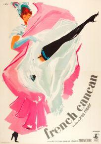 french cancan italian foglio 55x78 italian poster ercole brini manifesto