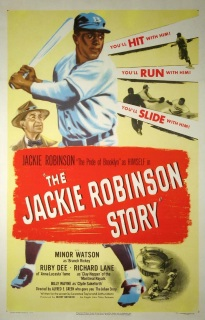 jackie robinson story movie poster