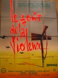 le gout de la violence french poster affiche clement hurel