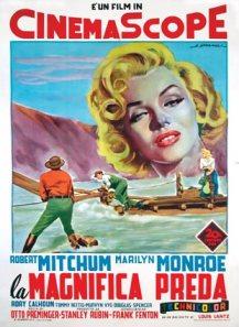 river of no return riviere-sans-retour-ital-2F poster alberto spagnoli