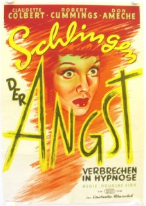 sleep my love film noir german poster