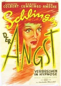 sleep my love film noir german poster