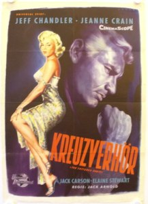 the tattered dress german poster