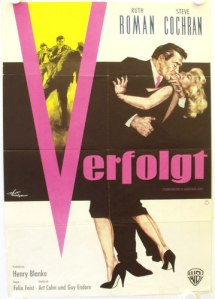 tomorrow is another day film noir german poster