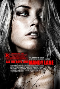 all the boys love mandy lane poster 1sh