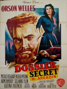 dossier secret mr. arkadin french poster jean mascii