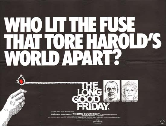 Long Good Friday quad poster