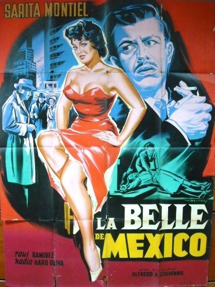 la belle de mexico poster sarita montiel belinsky
