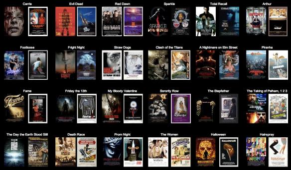 movie poster remakes originals