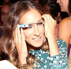 sarah jessica park google glass